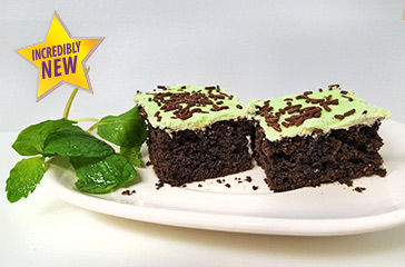 Seasonal Dessert Mint Chocolate Cake
