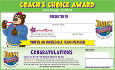 Coaches Choice Award