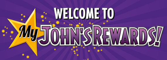 Welcome to My John's Rewards!